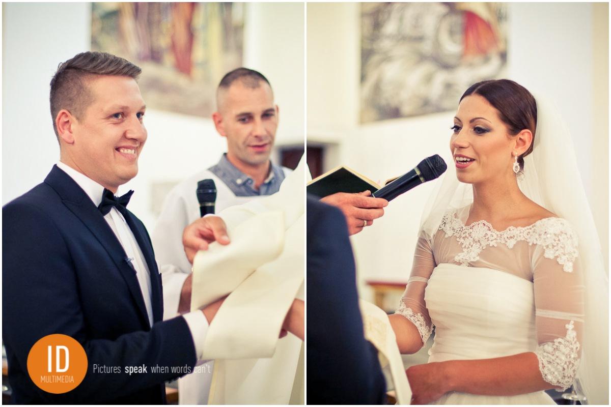 Zdjęcia ślubne z przysięgi