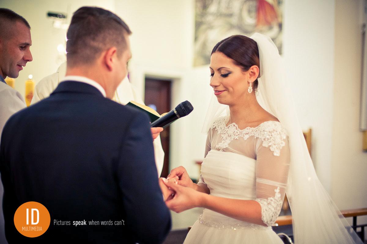 Fotografia ślubna przysięga