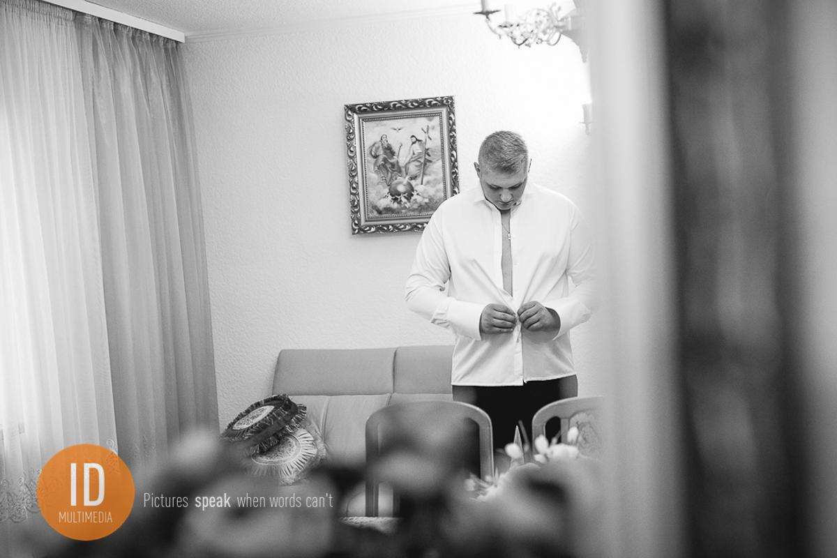 Przygotowania Igora do ślubu zimą