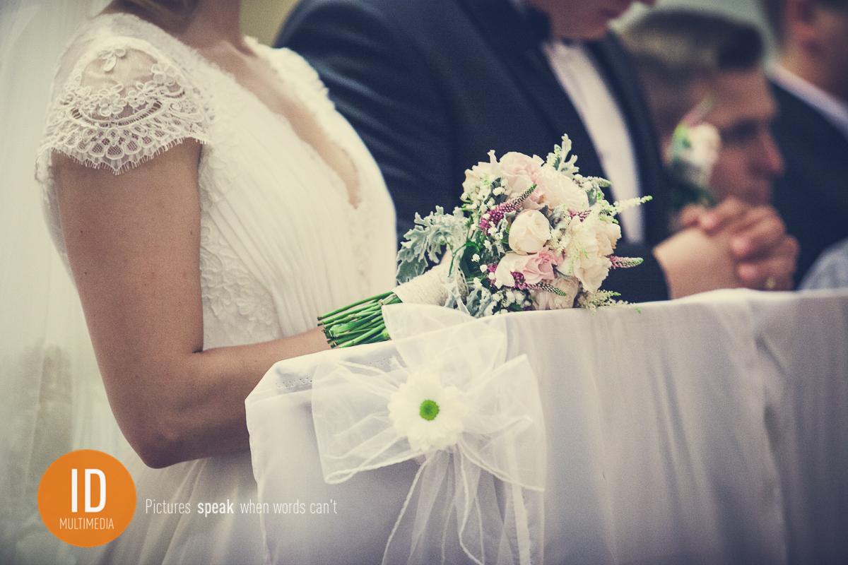 Zdjęcie ślubne detalu