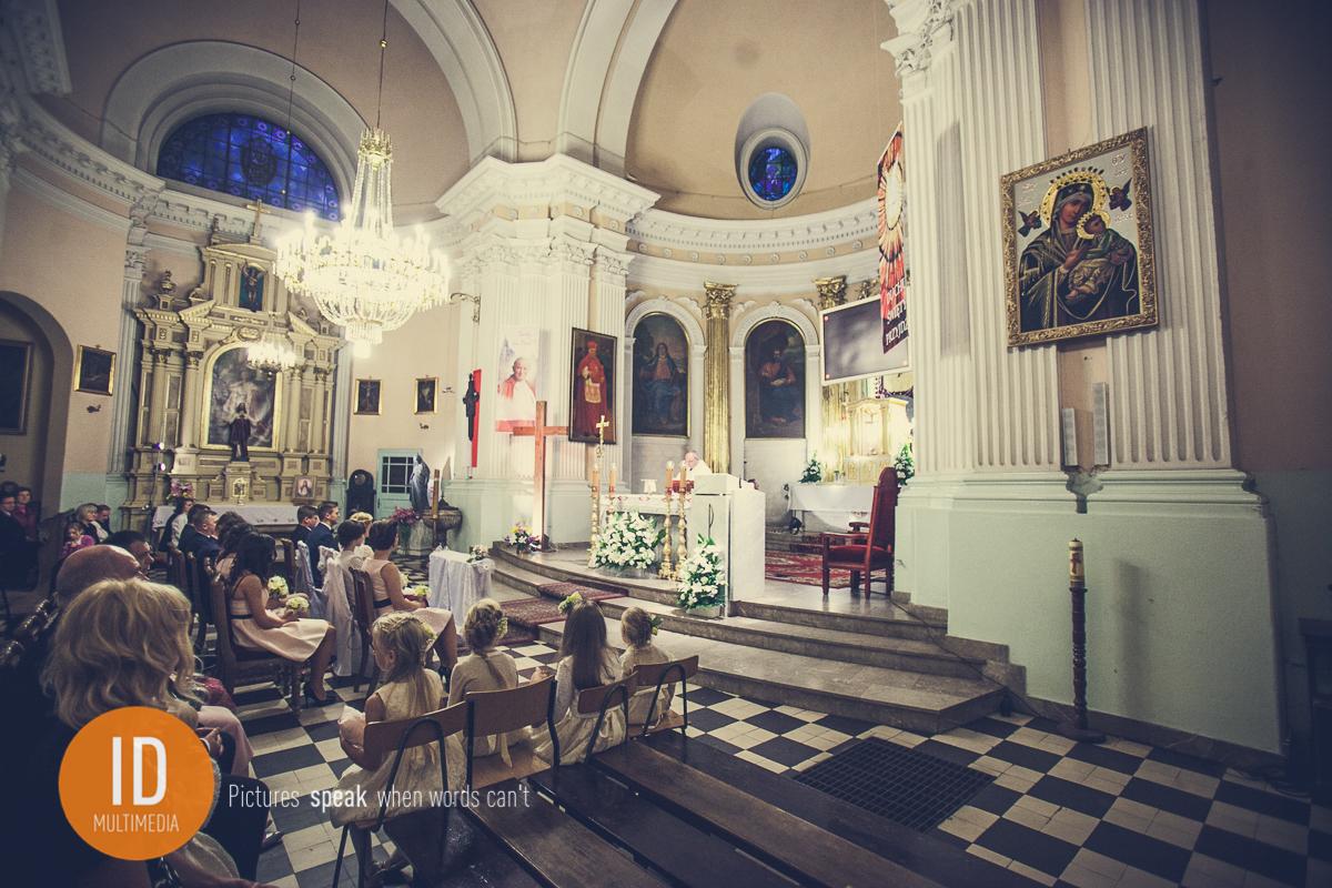 Ślub Mileny i Daniela w Kościele