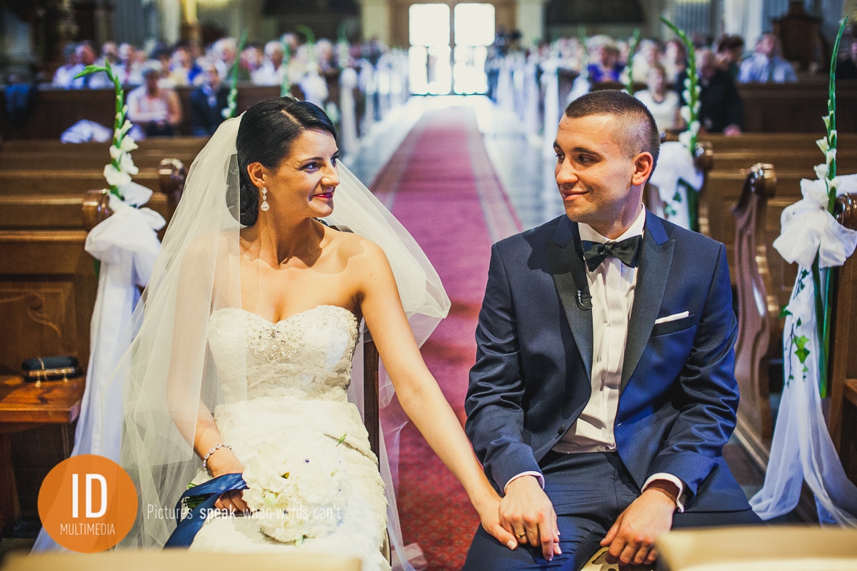 Nowożeńcy Asia i Kamil