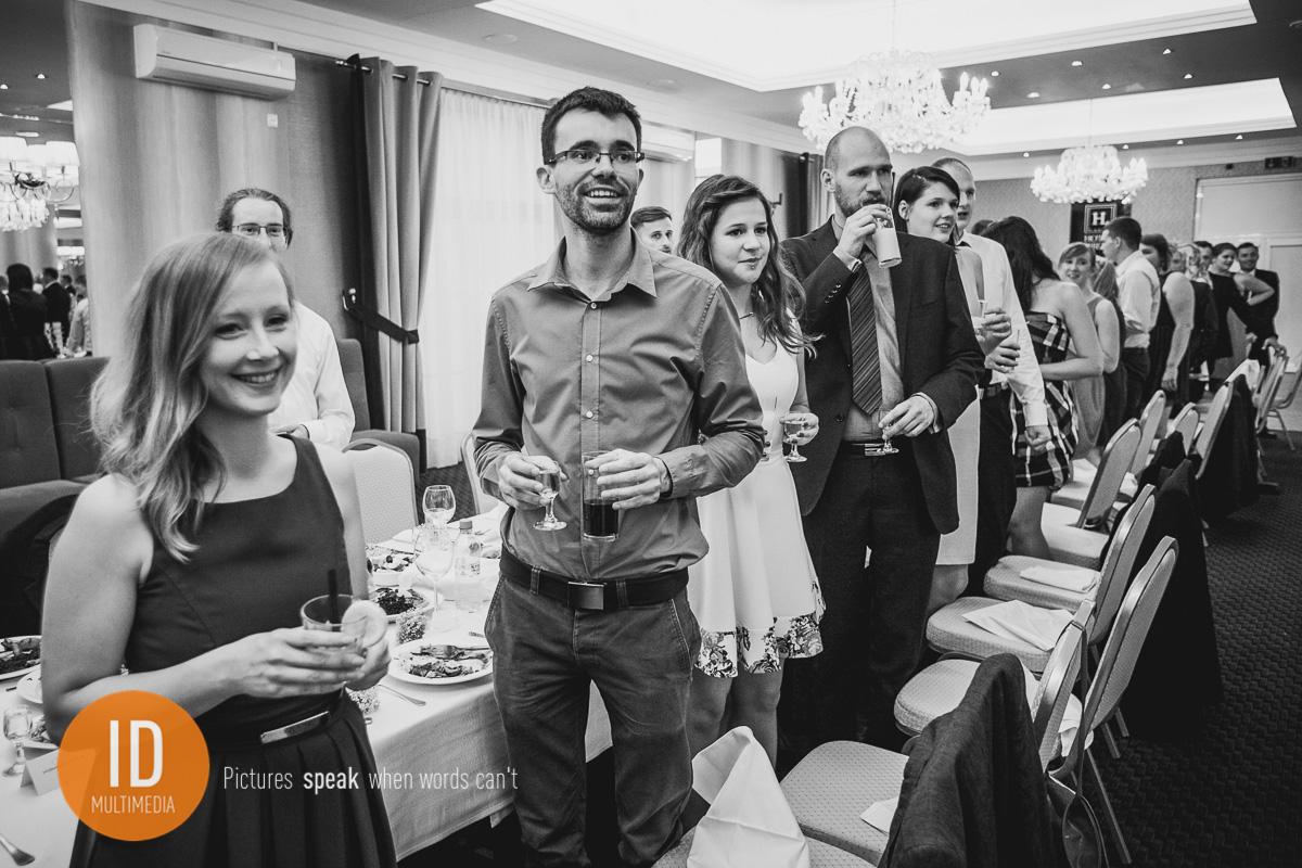 Goście na weselu Mileny i Kuby