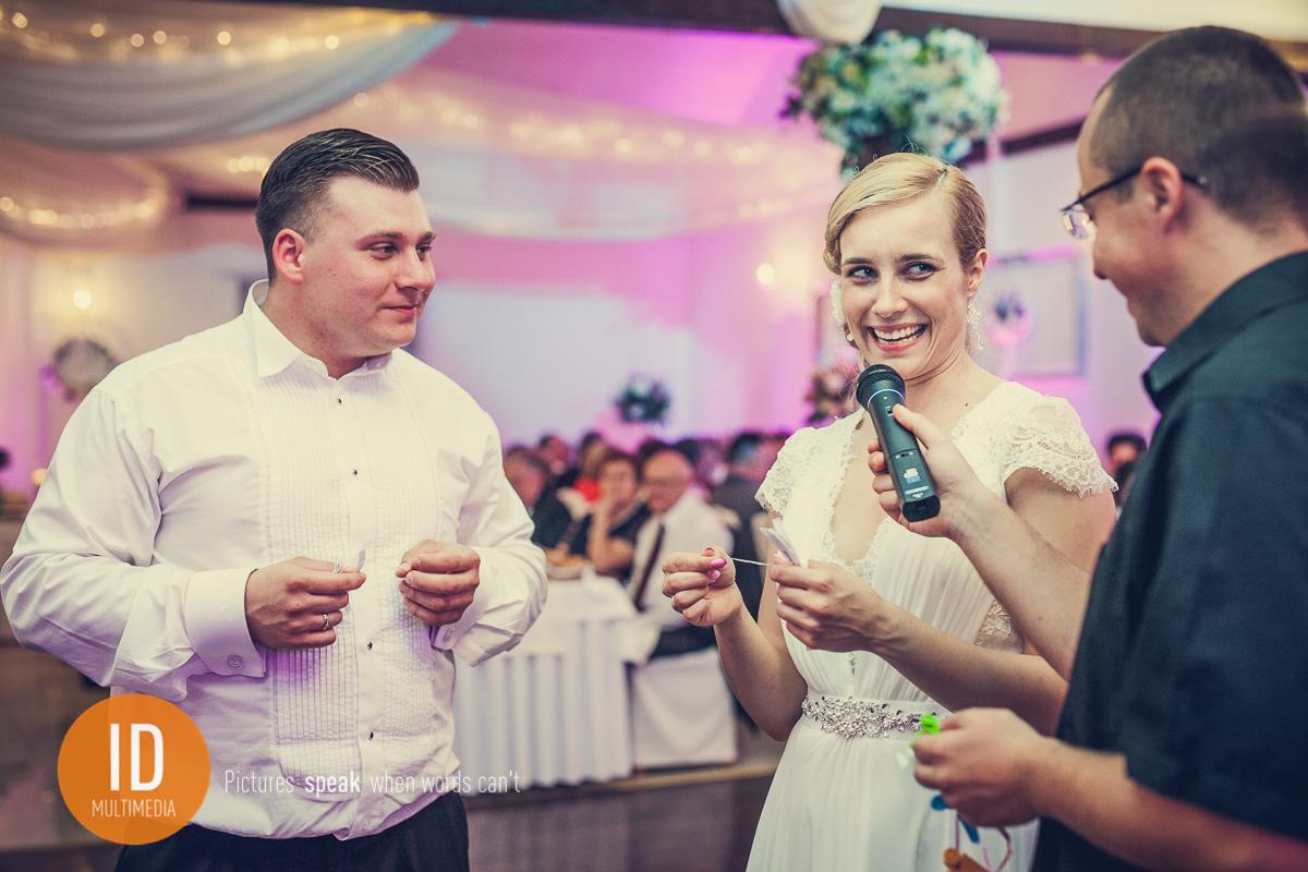 Milena z Danielem na weselu