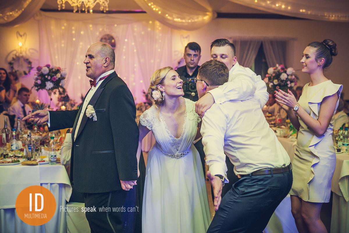 Milena i Daniel na weselu
