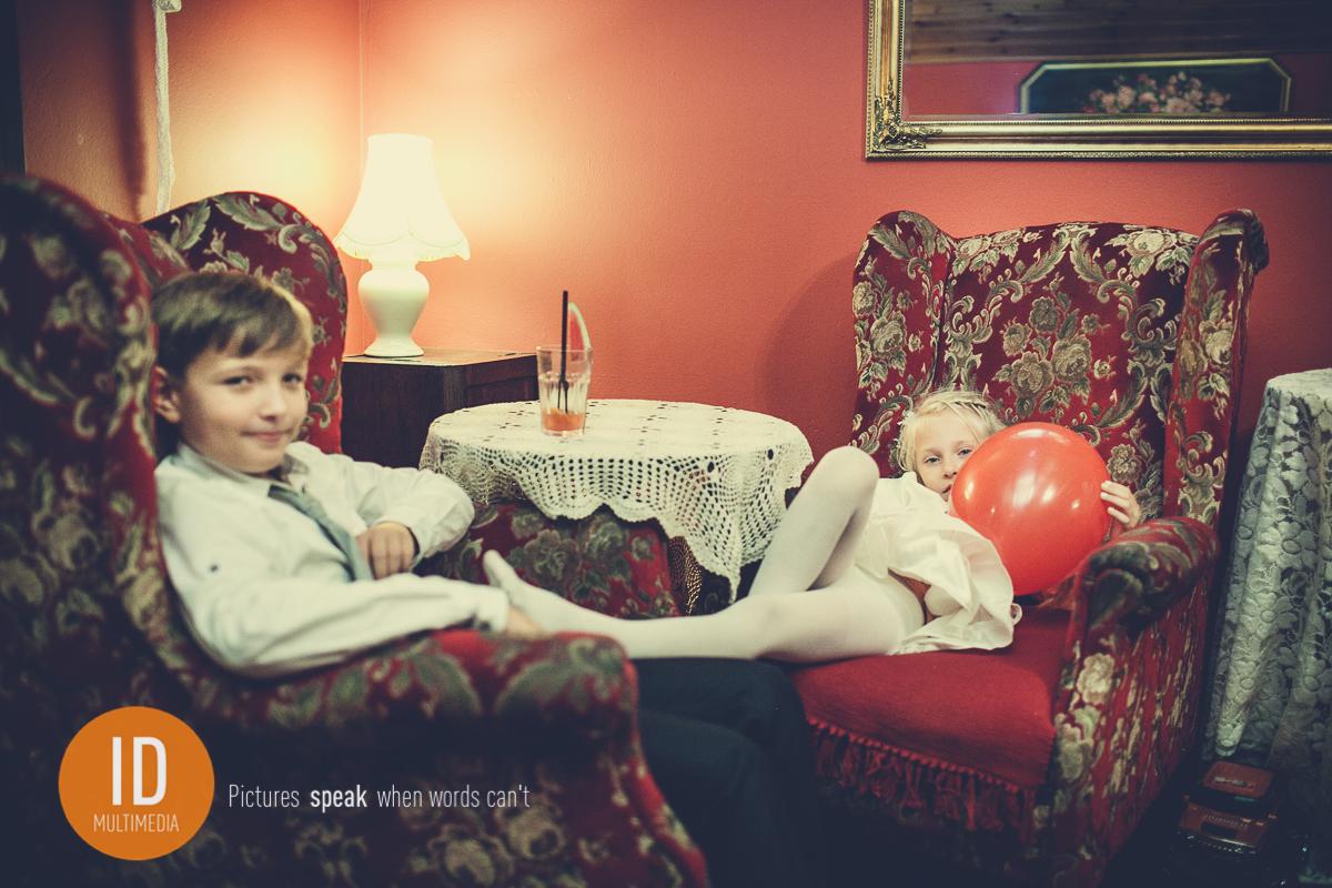 Dzieci na weselu Mileny i Daniela