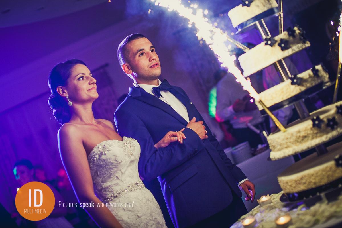 Tort weselny Asi i Kamila