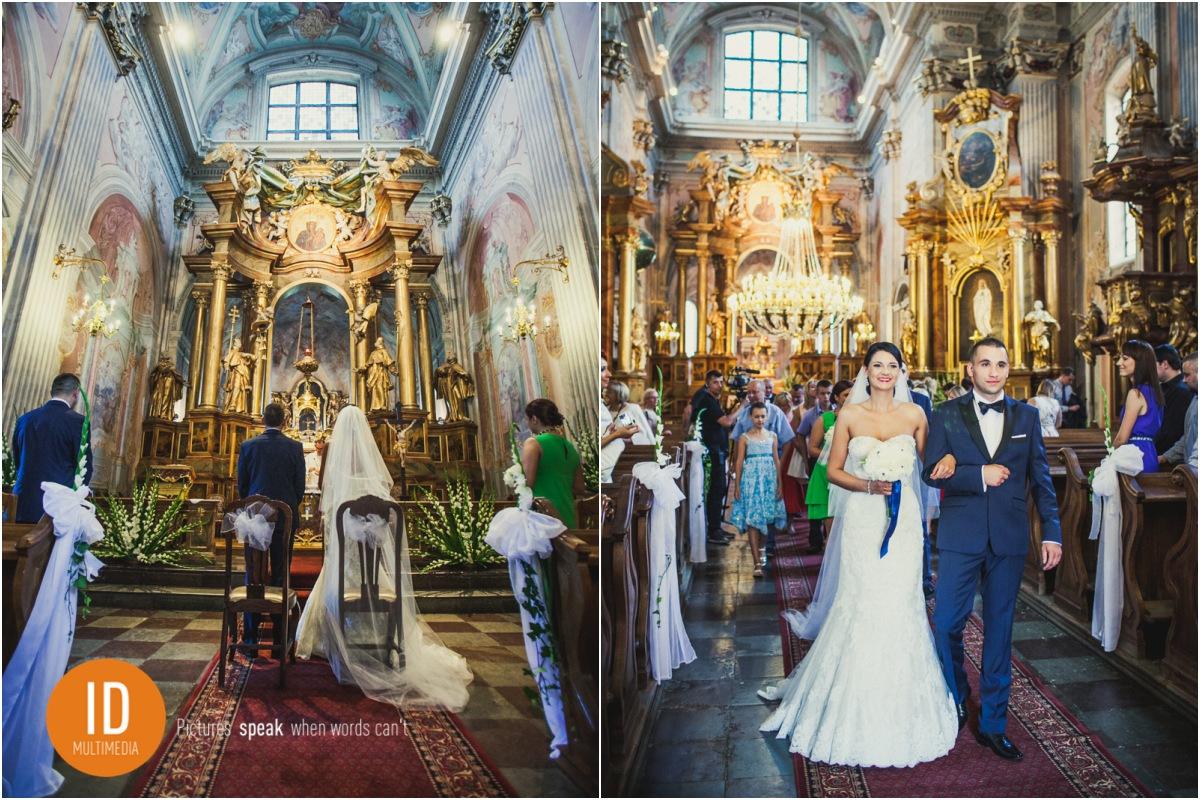 Reportaż ślubny z kościoła św. Anny