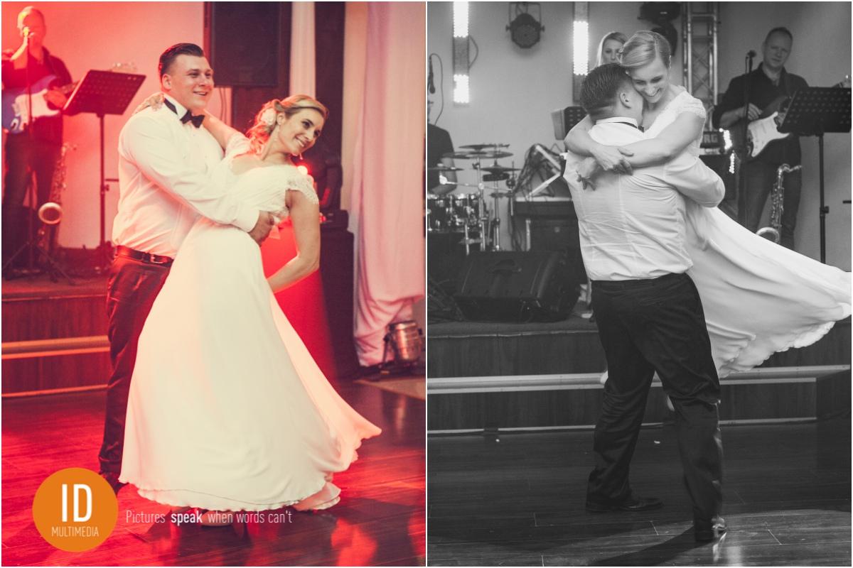 Milena i Daniel podczas pierwszego tańca