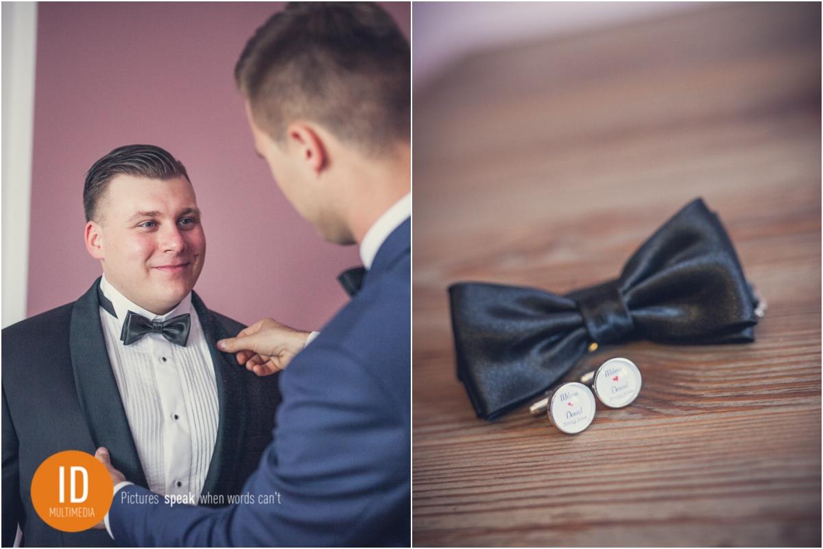Przygotowania Daniela do ślubu