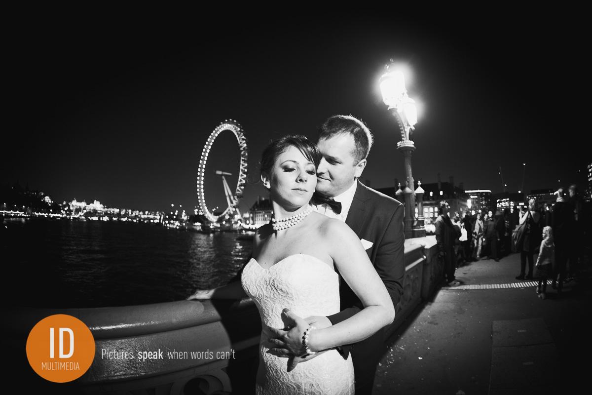Agnieszka i Maciek wieczór w Londynie