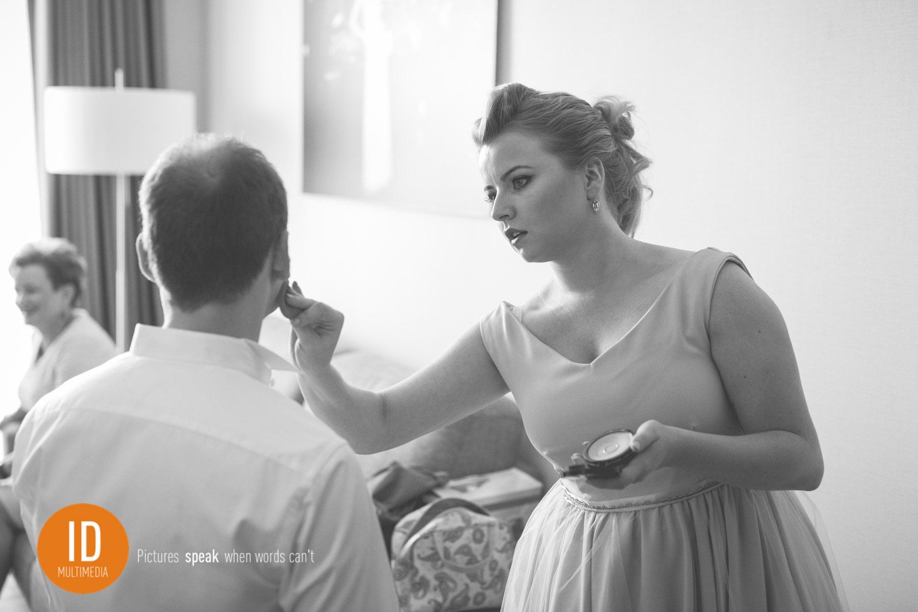 Łukasz przed ślubem w stylu retro