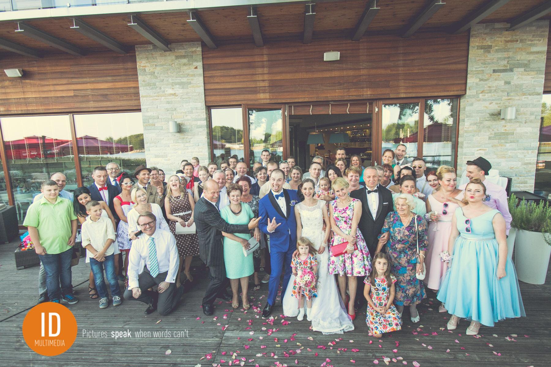 Ślub na lata 50-te