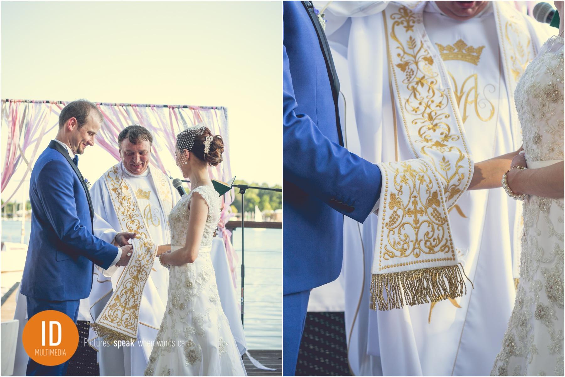 Ślub w stylu retro.