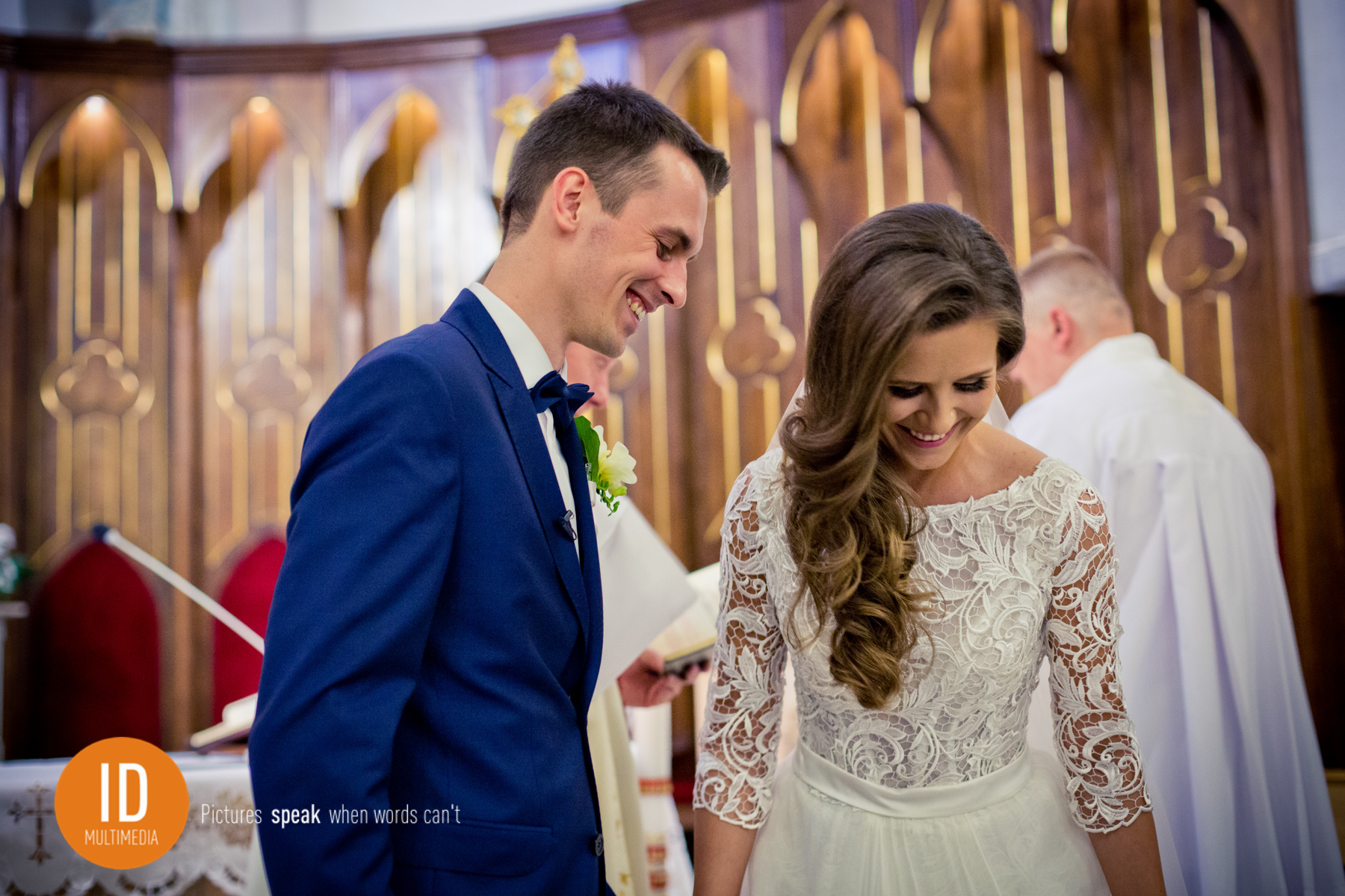 Szczęśliwi nowożeńcy