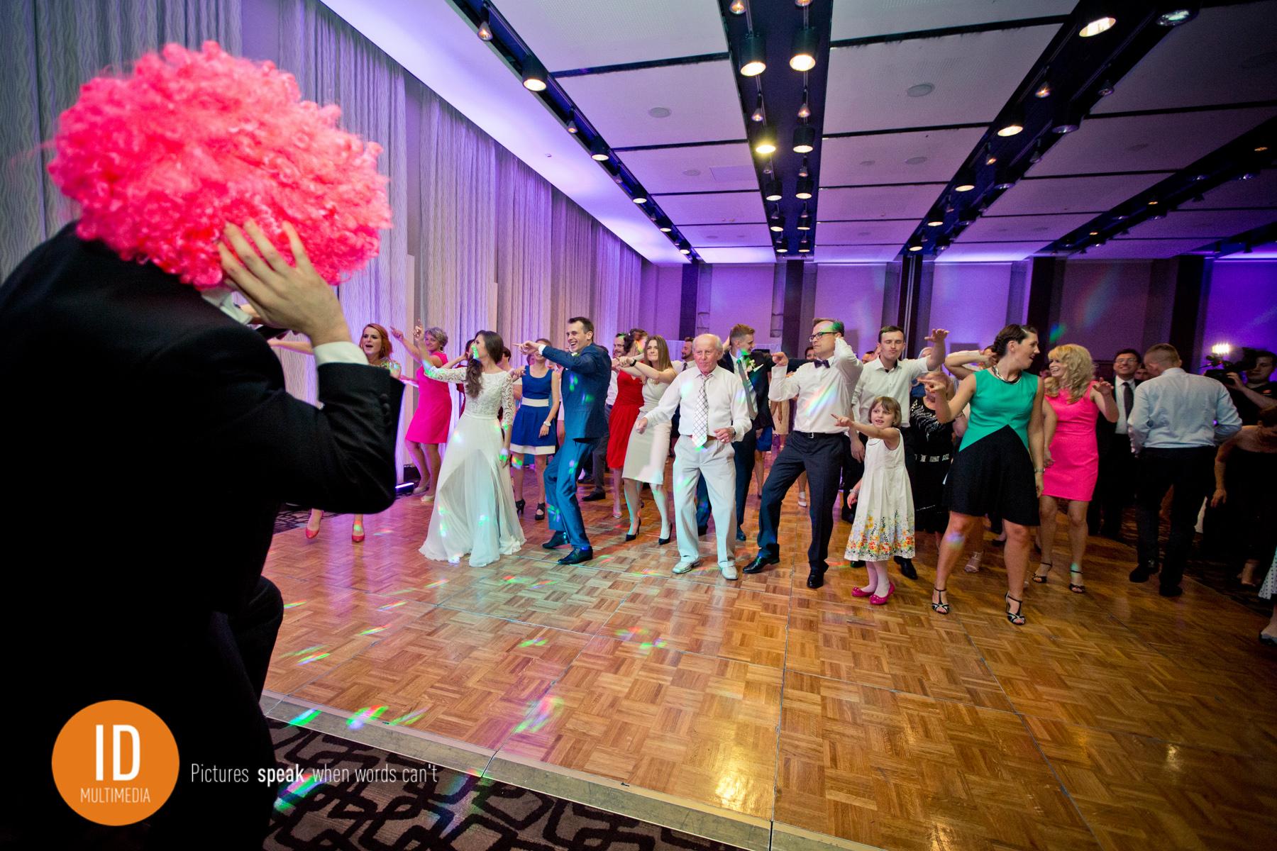 Dj w peruce najlepsze zdjęcia ślubne