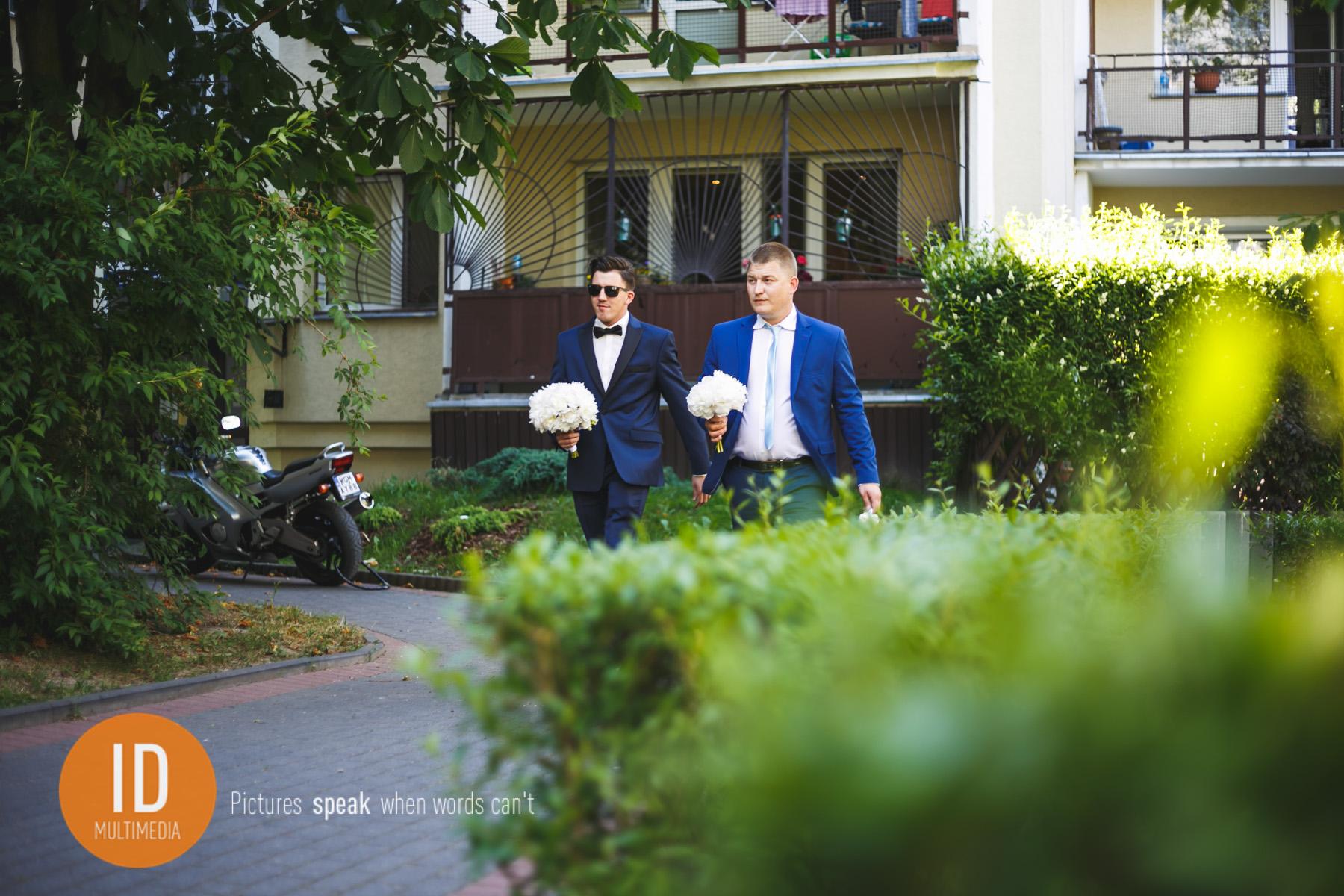 zdjęcia ślubne Sylwii i Jakuba przygotowania