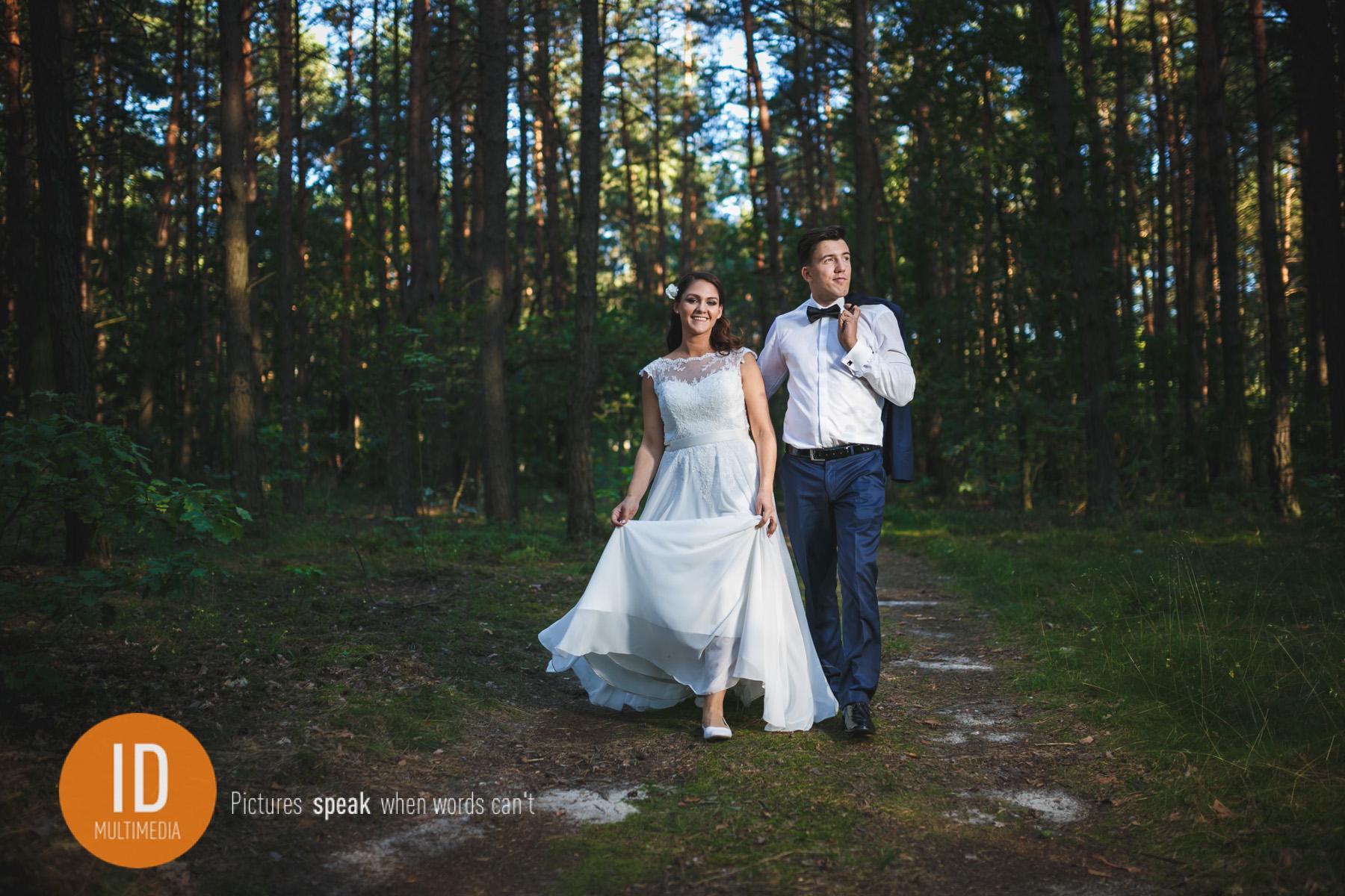 zdjęcia ślubne Sylwii i Jakuba plener