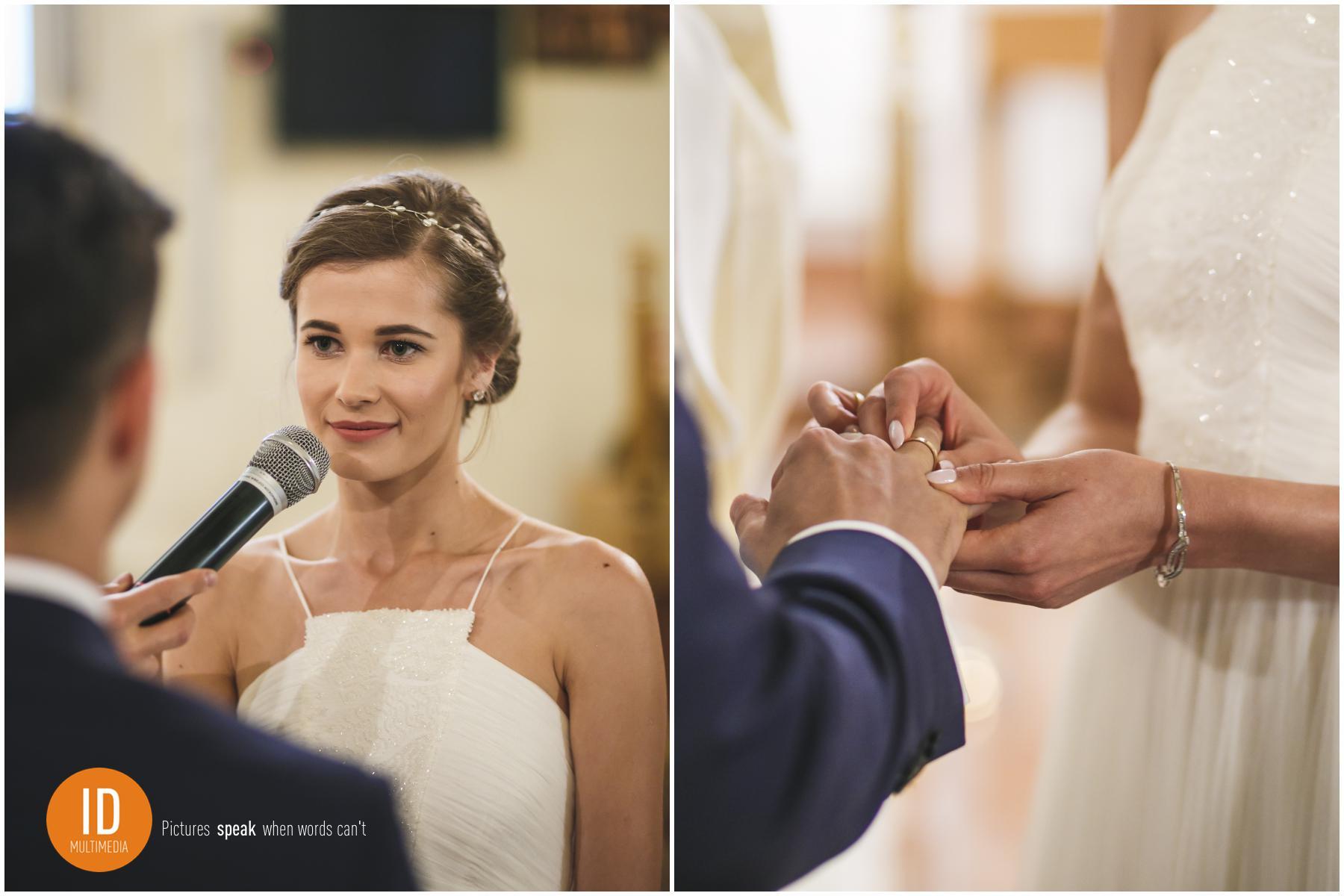 collage_przysiega2zdjęcia ślubne Asi i Sławka