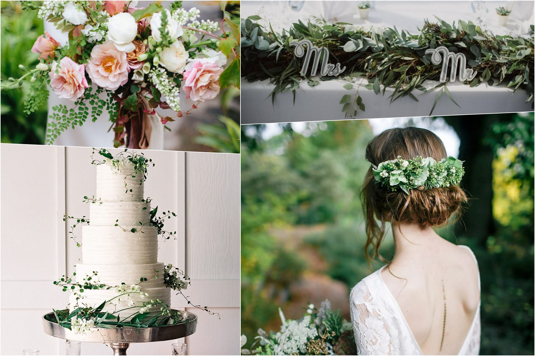 Trendy ślubne- kolor przewodni