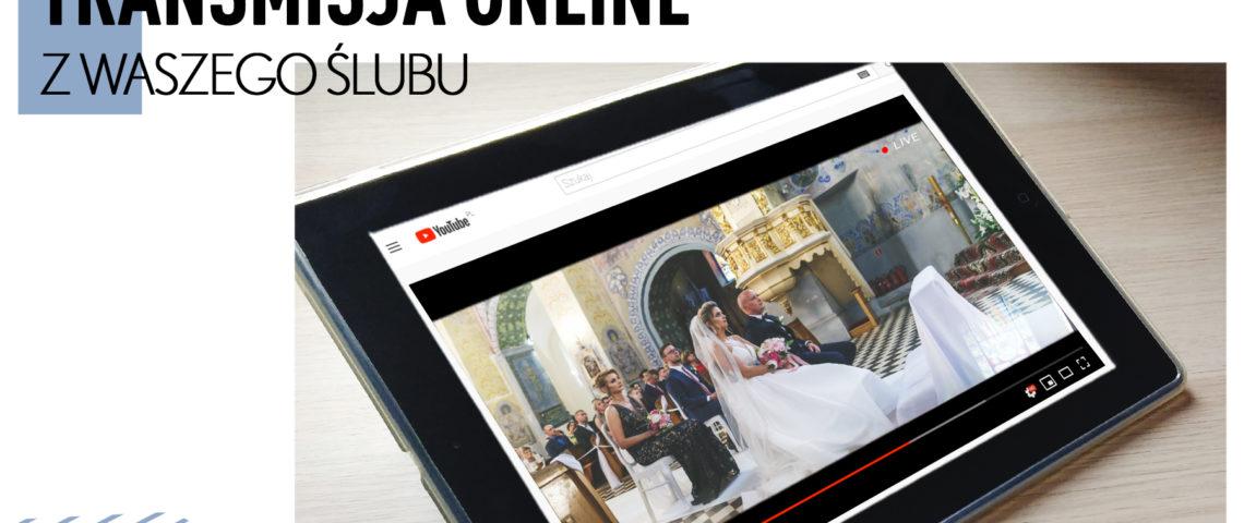 transmisja na żywo ze ślubu